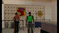 El verde y el Violeta Mike para GTA San Andreas