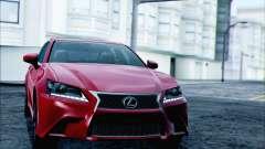 Lexus GS250 F Sport 2013 para GTA San Andreas