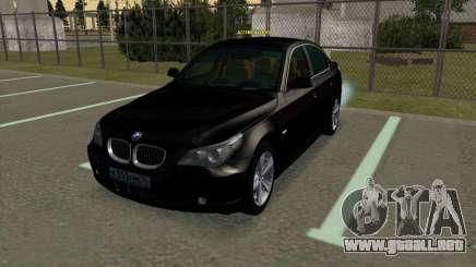 BMW 530xd para GTA San Andreas