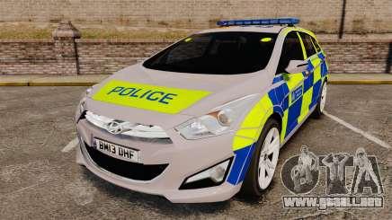 Hyundai i40 2013 Metropolitan Police [ELS] para GTA 4