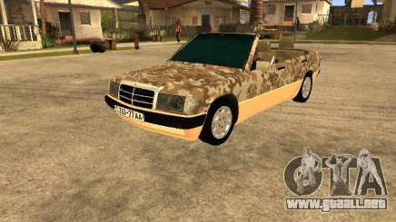 Mercedes-Benz 190E Army para GTA San Andreas