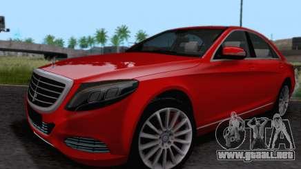 Mercedes-Benz W222 para GTA San Andreas