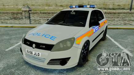 Vauxhall Astra Metropolitan Police [ELS] para GTA 4