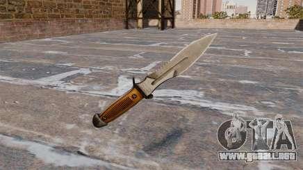 Игра Grand Theft Auto 4. Оружие для GTA 4. Нож Crysis 2 для GT