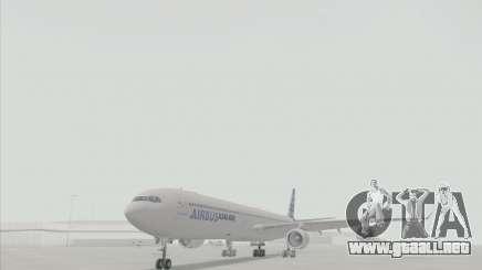 El Airbus A340-600 para GTA San Andreas