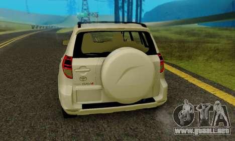 Toyota RAV4 para la visión correcta GTA San Andreas