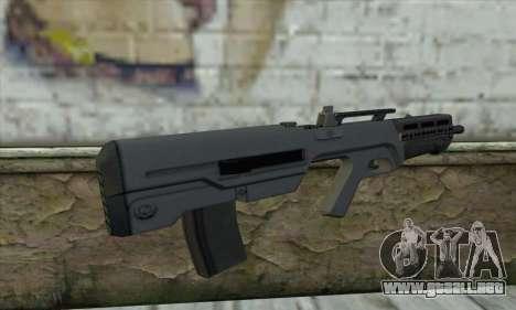 GTA V Advanced Rifle para GTA San Andreas segunda pantalla