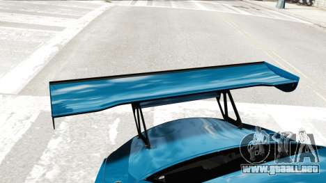 BMW Z4 GT3 2012 para GTA 4 vista lateral