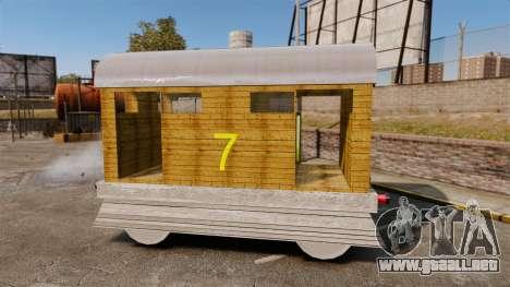 Tren-Toby- para GTA 4 left