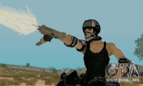 SWAT GIRL para GTA San Andreas tercera pantalla