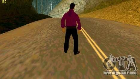 La nueva textura shmycr para GTA San Andreas segunda pantalla