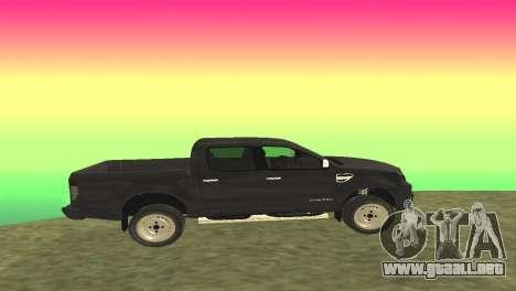 Ford Ranger Limited 2014 para GTA San Andreas left