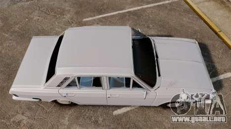IKCO Paykan 1970 para GTA 4 visión correcta