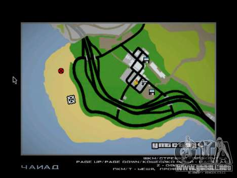 Pista de off-road para GTA San Andreas undécima de pantalla