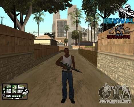 S-HUD-Renacimiento-DM Por Mario_Nostra para GTA San Andreas