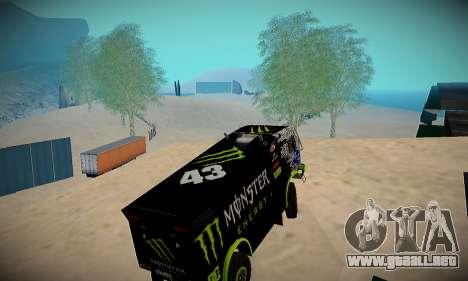 Pista de off-road para GTA San Andreas segunda pantalla