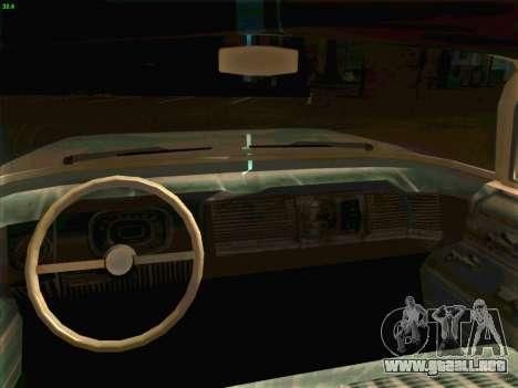 Cadillac Stella 1959 para GTA San Andreas vista hacia atrás