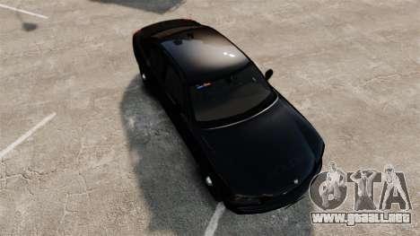 Dodge Charger Slicktop Police [ELS] para GTA 4 visión correcta