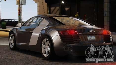 Audi R8 v1.1 para GTA 4 left