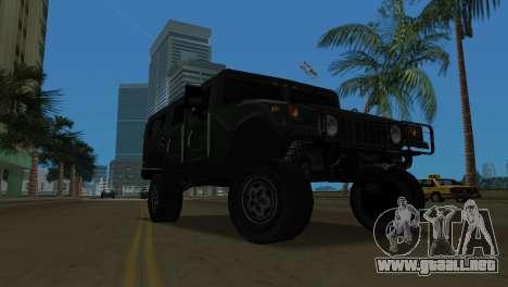 Hummer H1 Wagon para GTA Vice City left