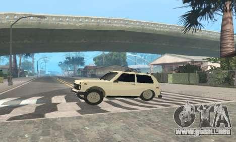 De los FLOREROS de 21214 Avtosh para GTA San Andreas vista hacia atrás