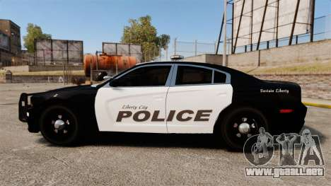 Dodge Charger 2013 LCPD [ELS] para GTA 4 left