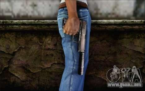 G17 pistol para GTA San Andreas tercera pantalla