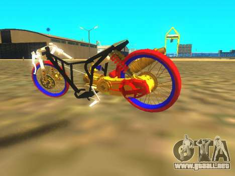 Drag Mio Full GOLD para visión interna GTA San Andreas