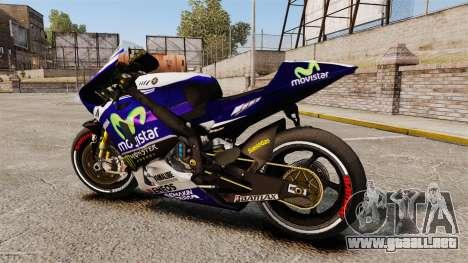 Yamaha YZR-M1 para GTA 4 left