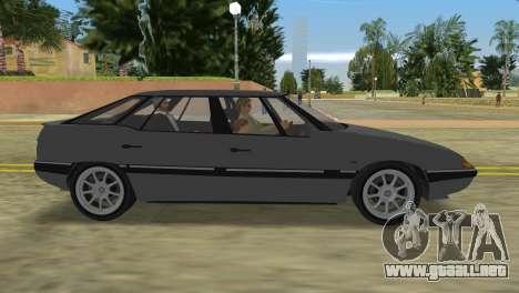 Citroen XM para GTA Vice City vista lateral izquierdo