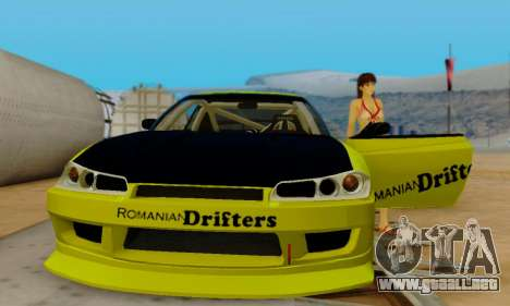 Nissan Silvia S15 Romanian Drifters para la vista superior GTA San Andreas