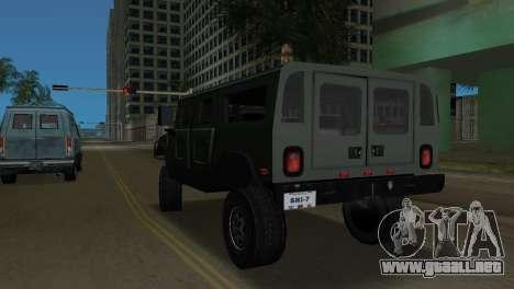 Hummer H1 Wagon para GTA Vice City vista lateral izquierdo