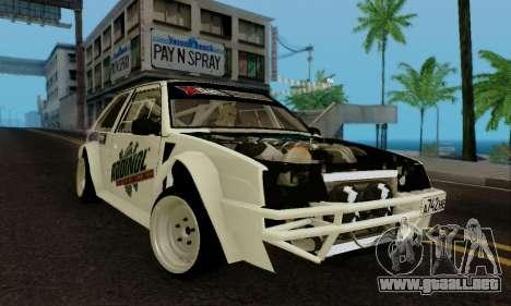 VAZ 2108 RDA para GTA San Andreas left