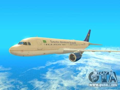 Airbus A320-200 Saudi Arabian para GTA San Andreas