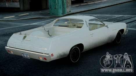 Chevrolet El Camino 1973 Old para GTA 4 left