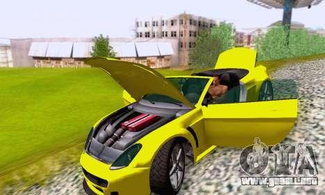 GTA V Rapid GT Cabrio para las ruedas de GTA San Andreas