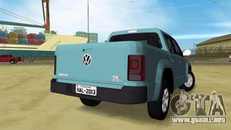 Volkswagen Amarok 2.0 TDi AWD Trendline 2012 para GTA Vice City left