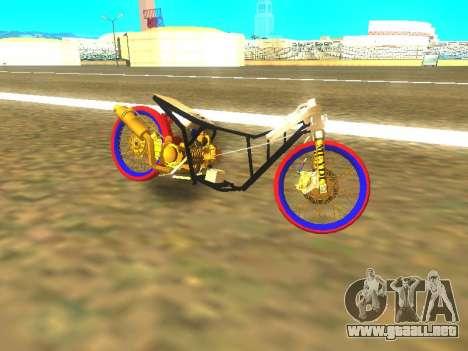 Drag Mio Full GOLD para GTA San Andreas