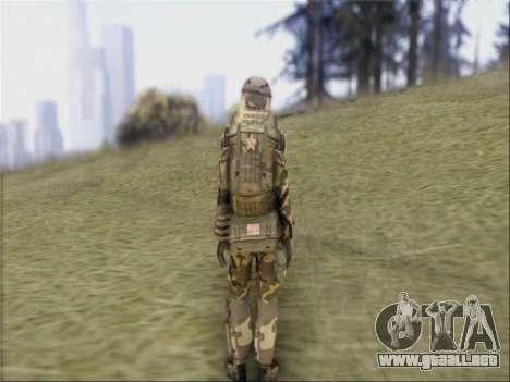 Soldados De La República popular De China para GTA San Andreas sucesivamente de pantalla