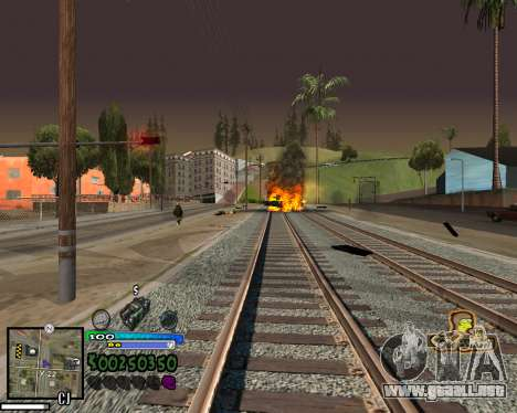 Vista de la primera persona para GTA San Andreas séptima pantalla