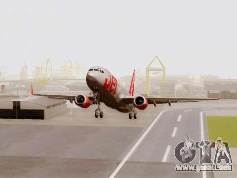 Boeing 737-800 Jet2 para GTA San Andreas left