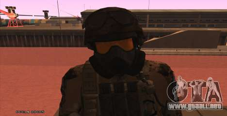 Global Defense Initiative Soldier para GTA San Andreas