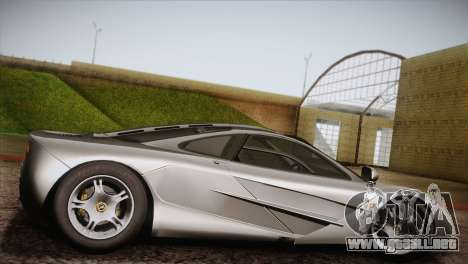 McLaren F1 para GTA San Andreas left