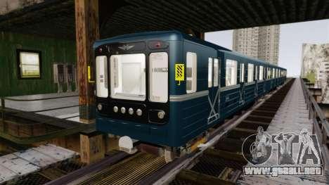 Cabeza de metro de modelos 81-717 para GTA 4