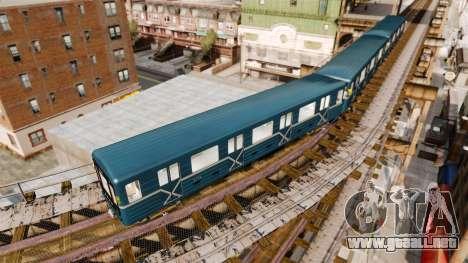 Cabeza de metro de modelos 81-717 para GTA 4 segundos de pantalla