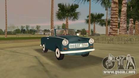 Trabant 601 Custom para GTA Vice City left