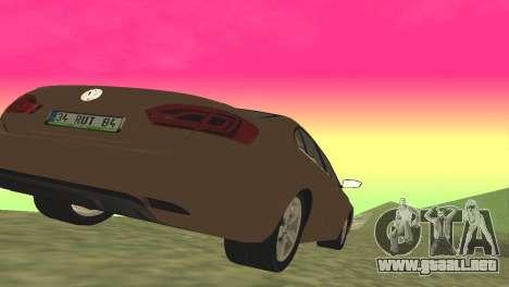 Volkswagen Jetta 1.4 2013 TSI Highline para GTA San Andreas vista posterior izquierda
