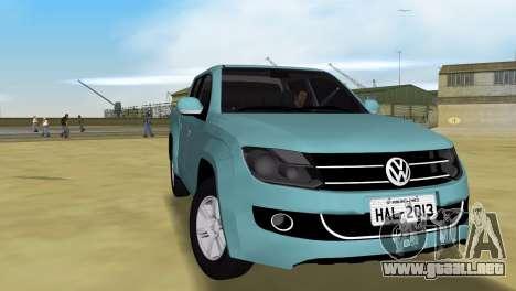 Volkswagen Amarok 2.0 TDi AWD Trendline 2012 para GTA Vice City visión correcta