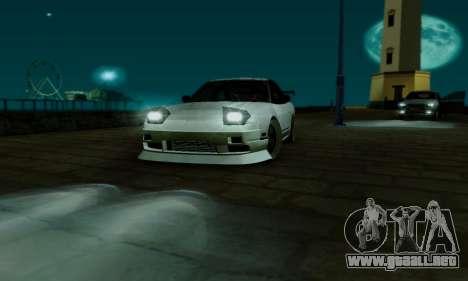 Nissan SX 240 para vista lateral GTA San Andreas