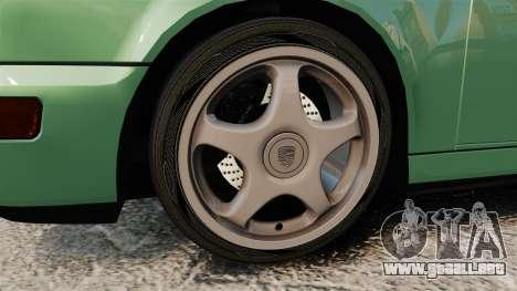 Porsche 911 Speedster para GTA 4 vista hacia atrás